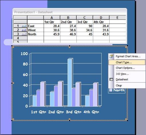Tutorial powerpoint 9 membuat diagram lingkaran hnz11s blog otomatis akan muncul tampilan diagram batang namun karena anda kali ini tidak bermaksud membuat diagram batang mari kita beralih ke bentuk diagram lain ccuart Choice Image